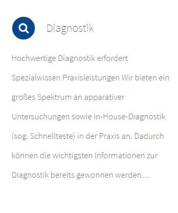 Diagnostik aus  Rosengarten
