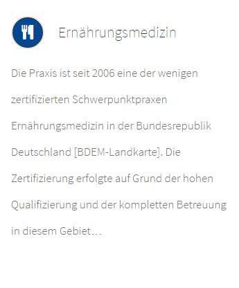 Ernährungsmedizin für 74321 Bietigheim-Bissingen